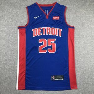 NEW NBA Nike Detroit Pistons Derrick Rose Jersey